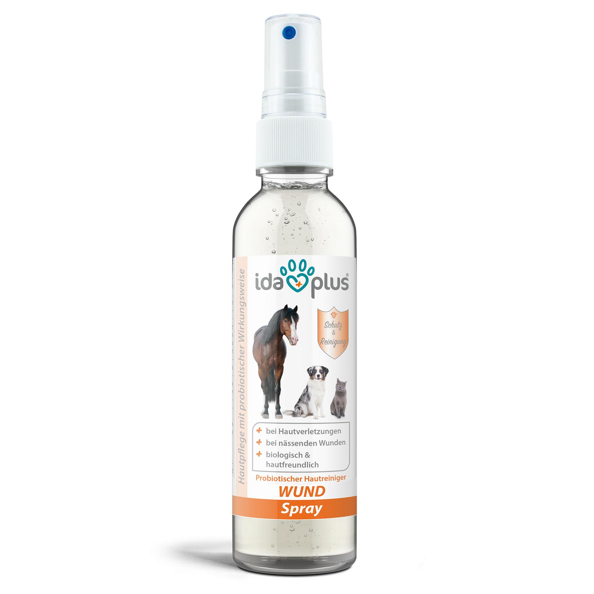 Wund Spray für Hunde, Katzen & Pferde - Schutzschild bei Hautverletzungen 200 ml