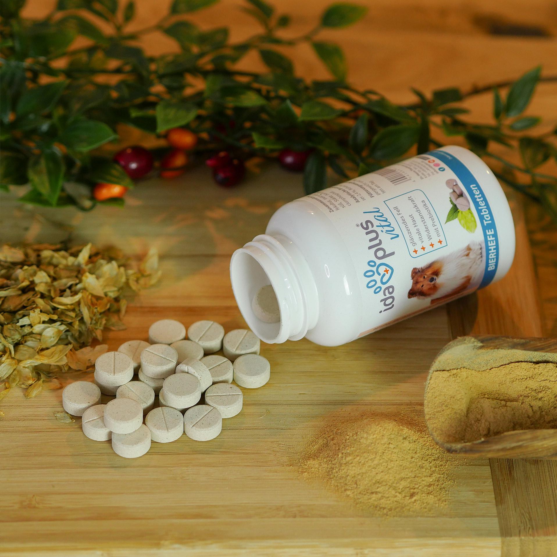 Bierhefe-Tabletten – optimale Pflege für glänzendes Fell & kräftige Haut 120 Stk.
