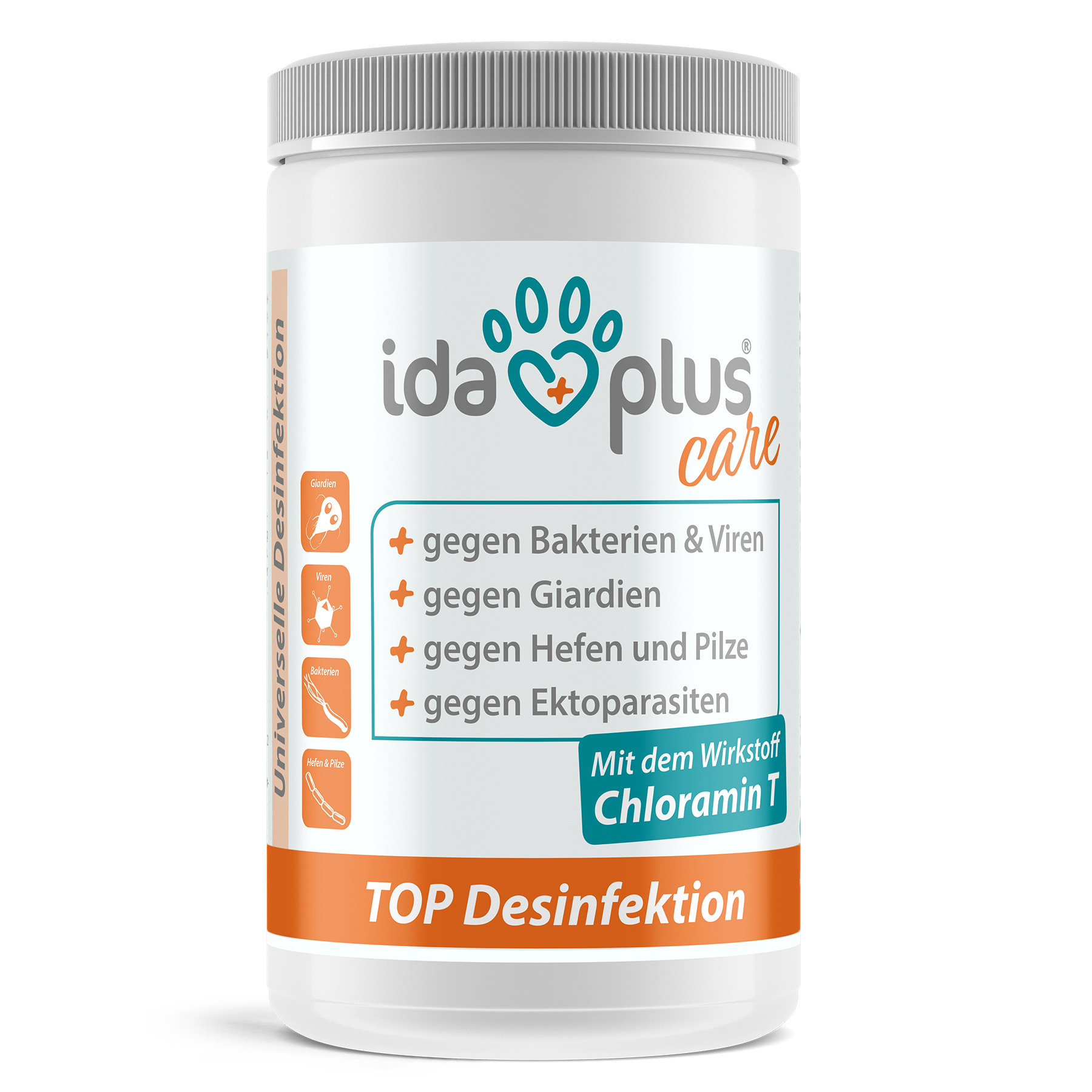 TOP Desinfektion Flächendesinfektion - Pulver zum Anmischen - 1000 g