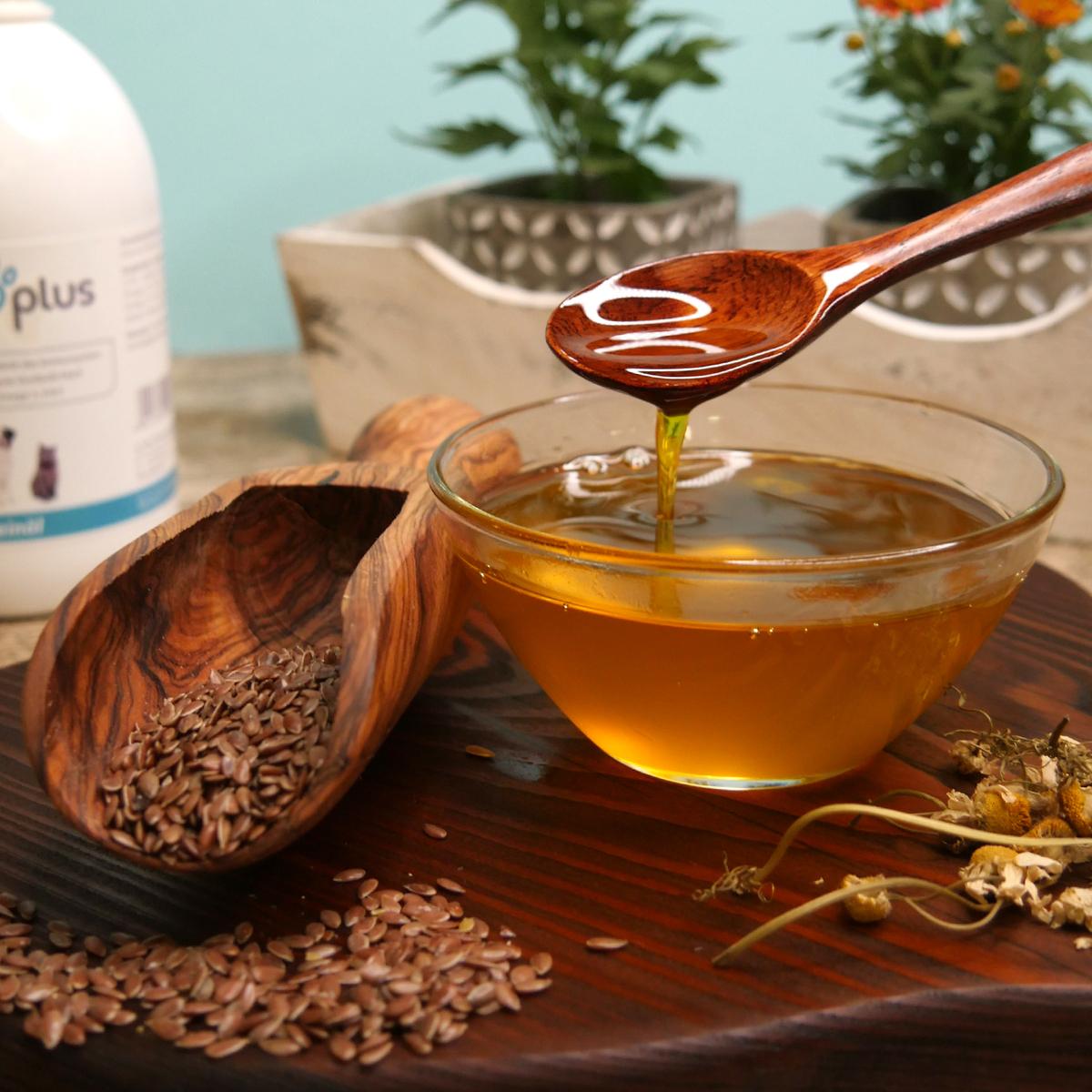 Leinöl – mit wertvollen ungesättigten Fettsäuren enthält Omega 3, 6 & 9 - 500 ml