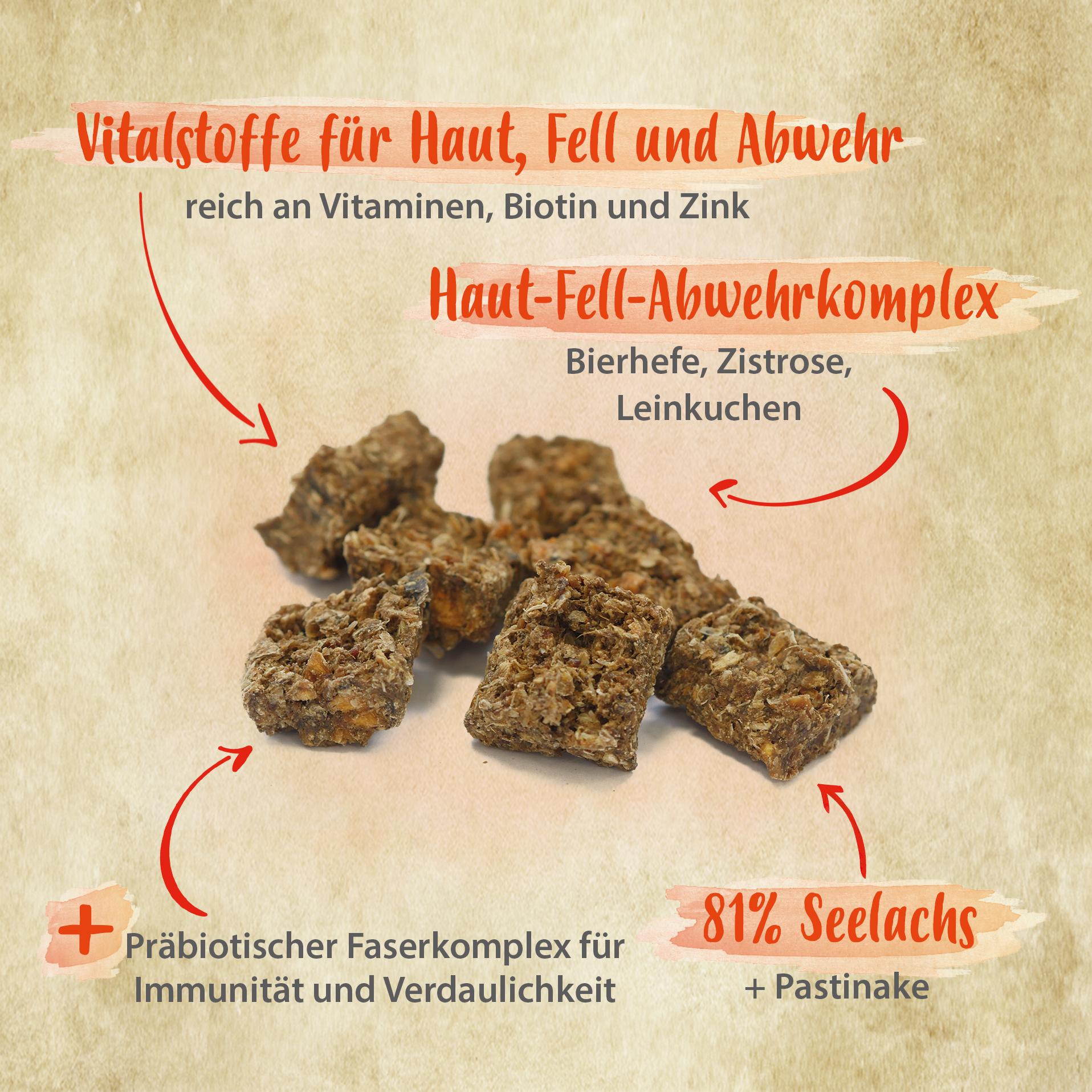 Herzensbrecher - für glänzendes Fell, gesunde Haut, starke Abwehrkräfte - 150 g