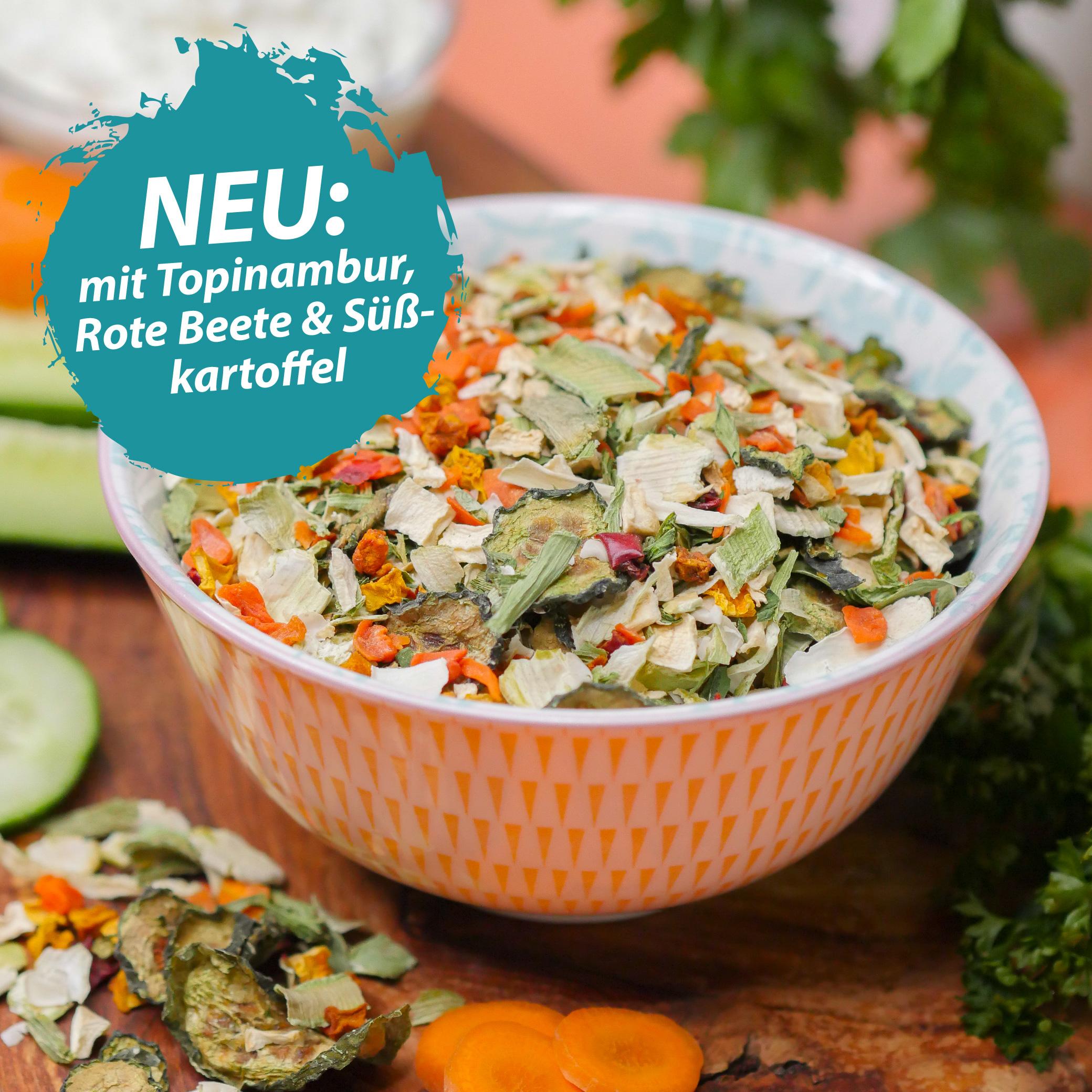Gemüse Mix – Barf Gemüse für Hunde – Getreidefrei & ohne künstliche Zusätze - 1 Kg