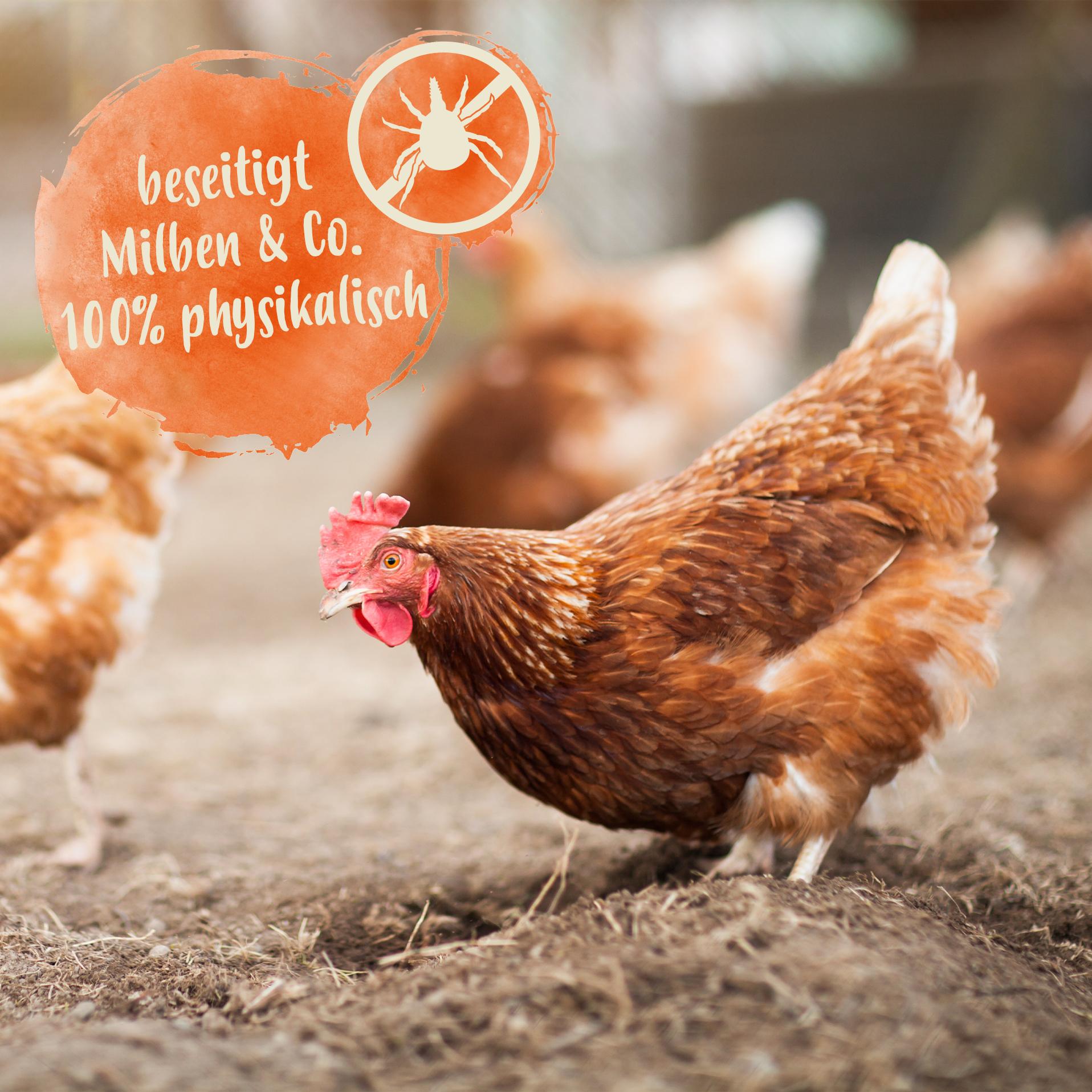 Gurlite Pulver - Effektiv gegen rote Vogelmilben & andere Parasiten - 25 L