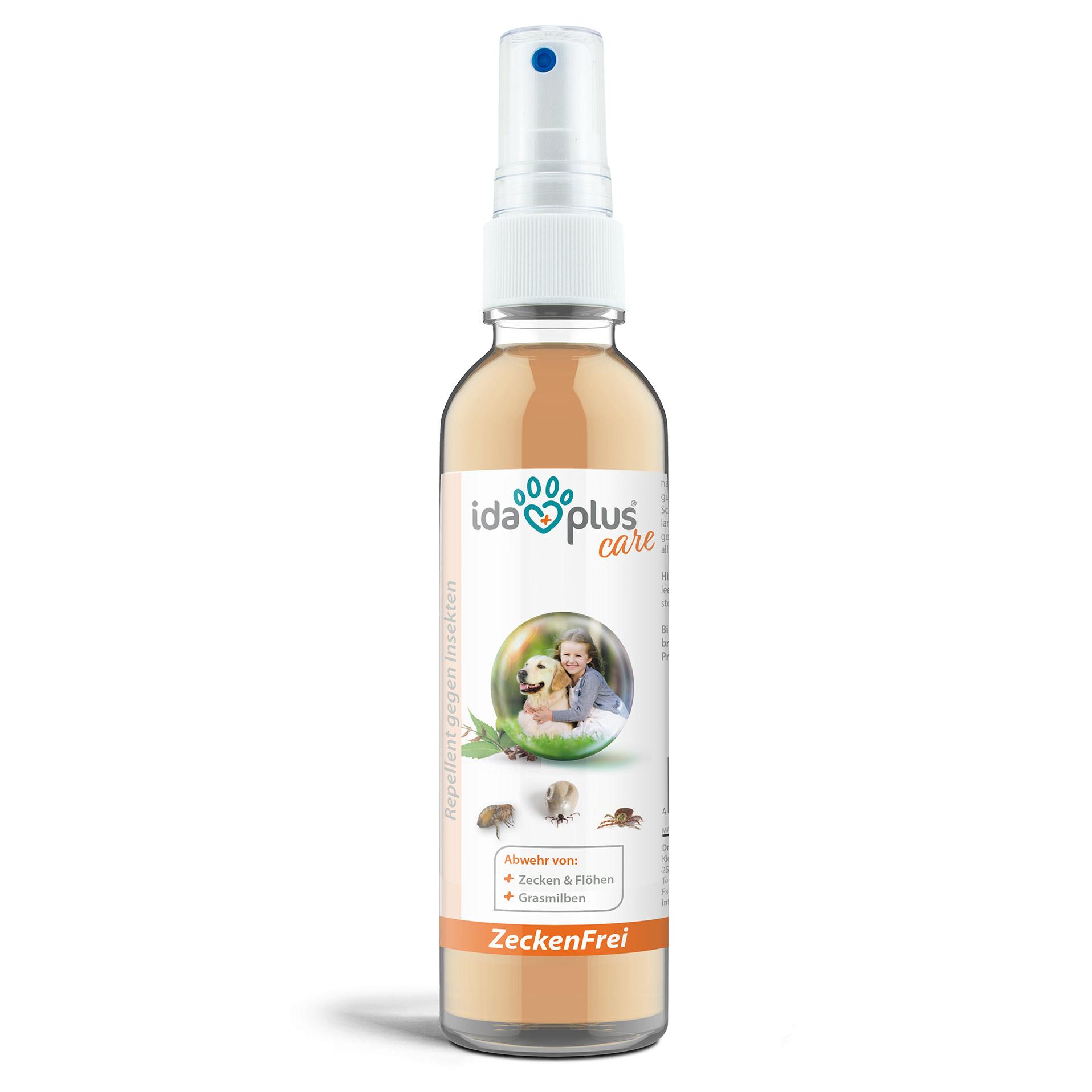 Zeckenfrei - Zeckenspray - Geraniol & Nelkenblätteröl zum Insektenschutz - 200 ml