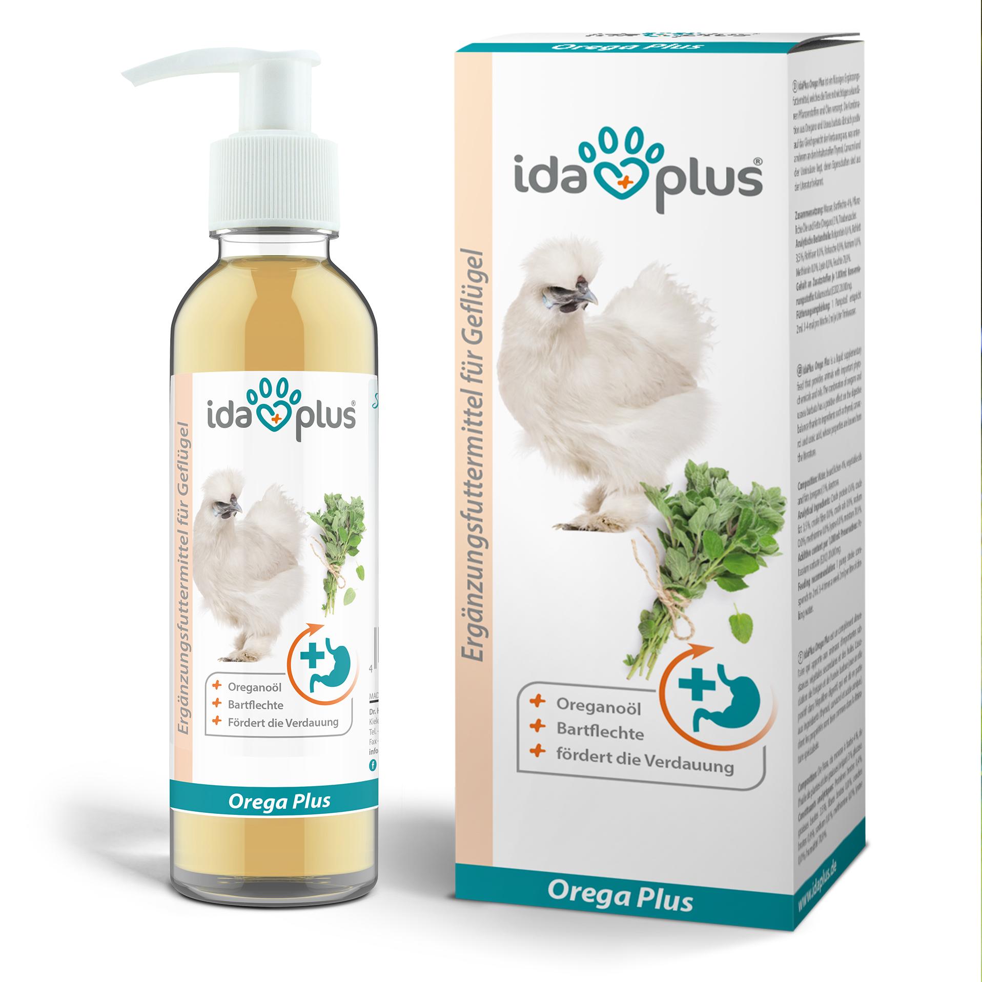 Orega Plus - Oregano Öl für Hühner unterstützt die Verdauung & Darmflora